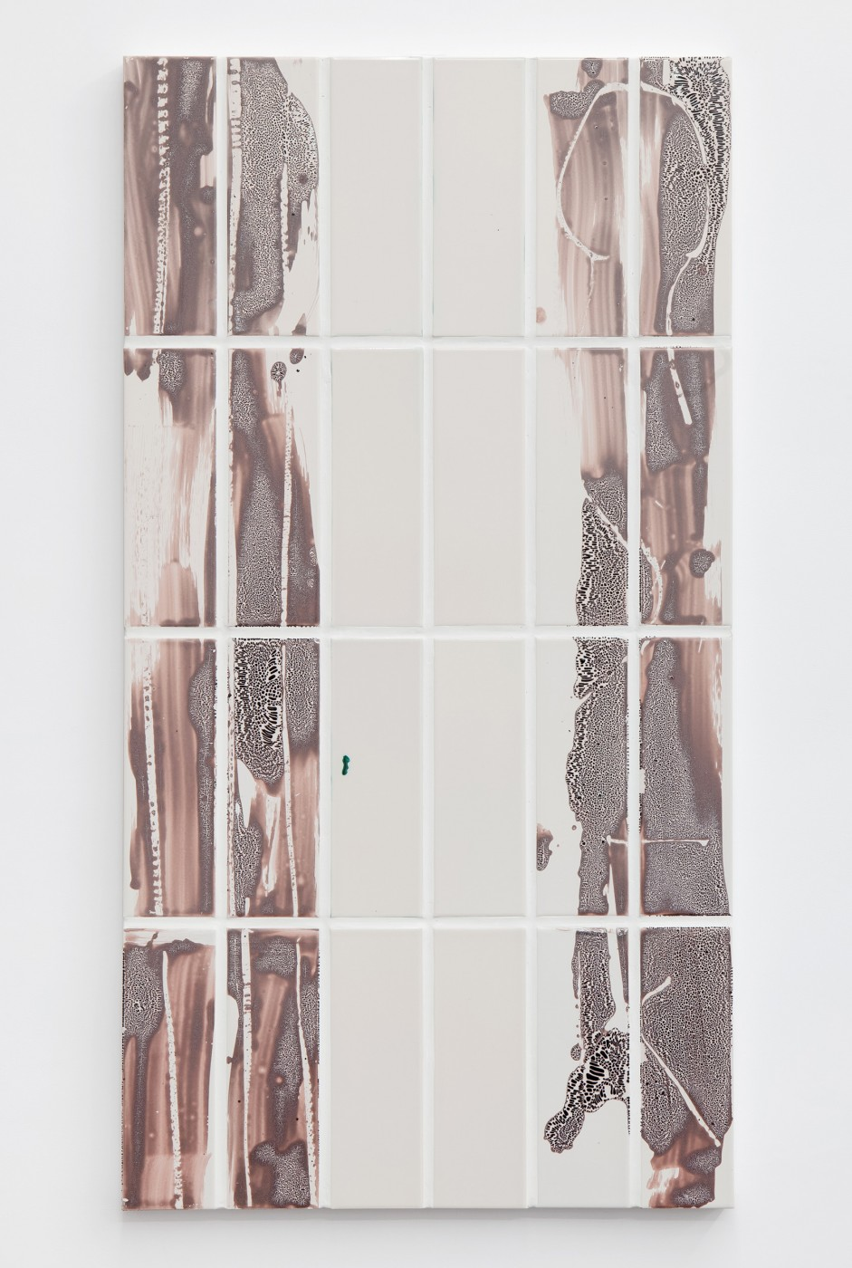 Tours <I>Untitled</I>, 2014  Glazed ceramics, ceramic transfer, aluminium  