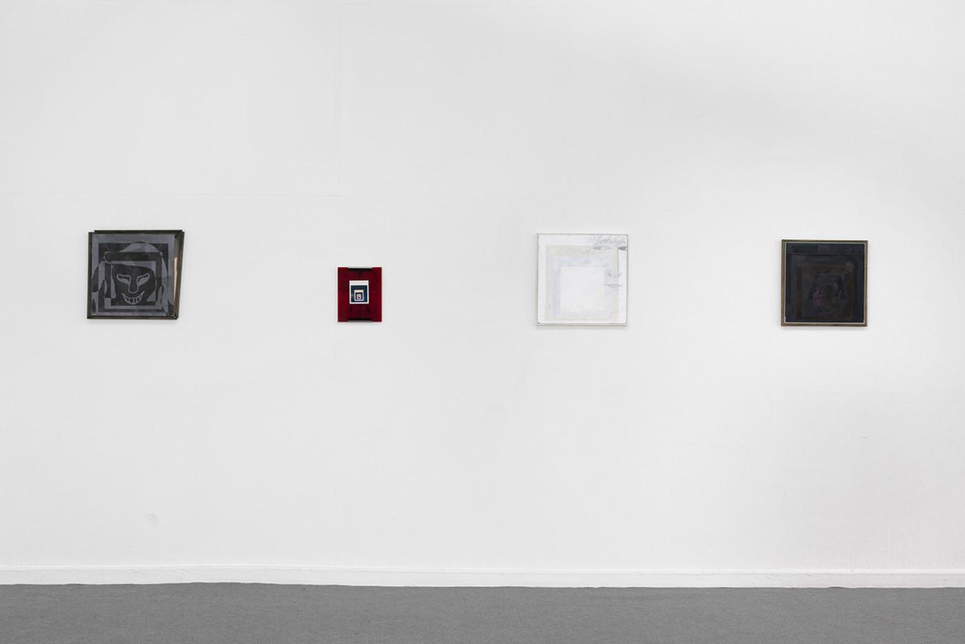BRADLEY KRONZ  Long Hallway , 2018, Forde, Geneva, installation view - High Art Gallery Paris