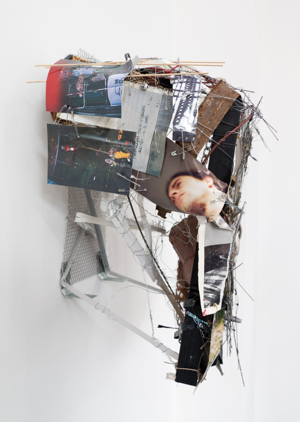 METROPOLITAN  Caracole</I>, 2015 (detail) Mixed media 62 x 49 x 31 cm / 24.4 x 19.3 x 12.2 in  ROBERT BITTENBENDER