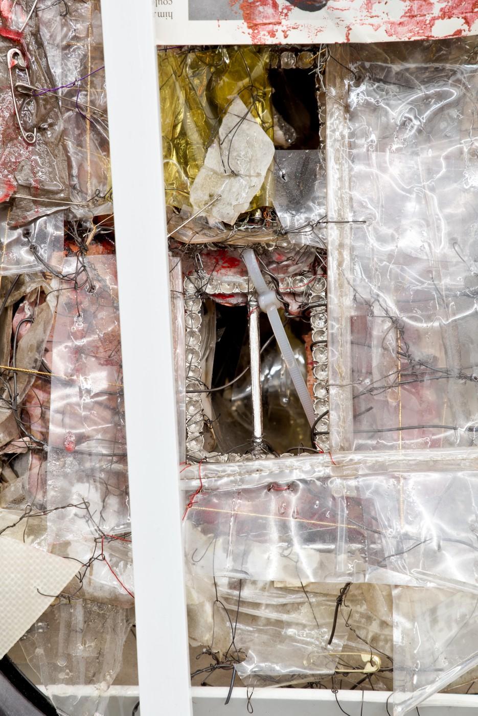 METROPOLITAN  Born Tactile</I>, 2015 (detail) Mixed media 79 x 48 x 44 cm / 31.1 x 18.9 x 17.3 in  ROBERT BITTENBENDER