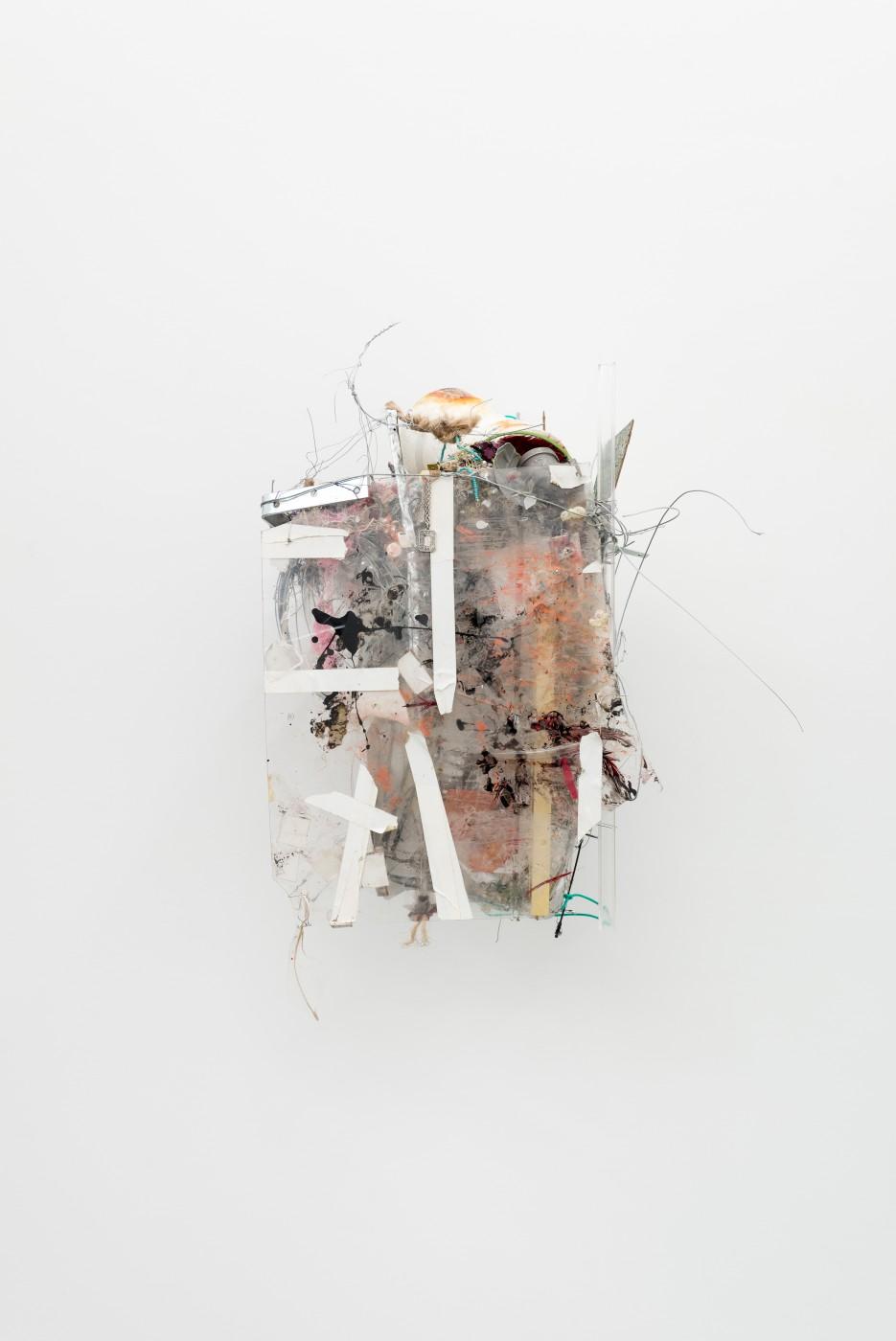 METROPOLITAN  The Student's Tale</I>, 2015 Mixed media 62 x 42 x 42 cm / 24.4 x 16.5 x 16.5 in  ROBERT BITTENBENDER