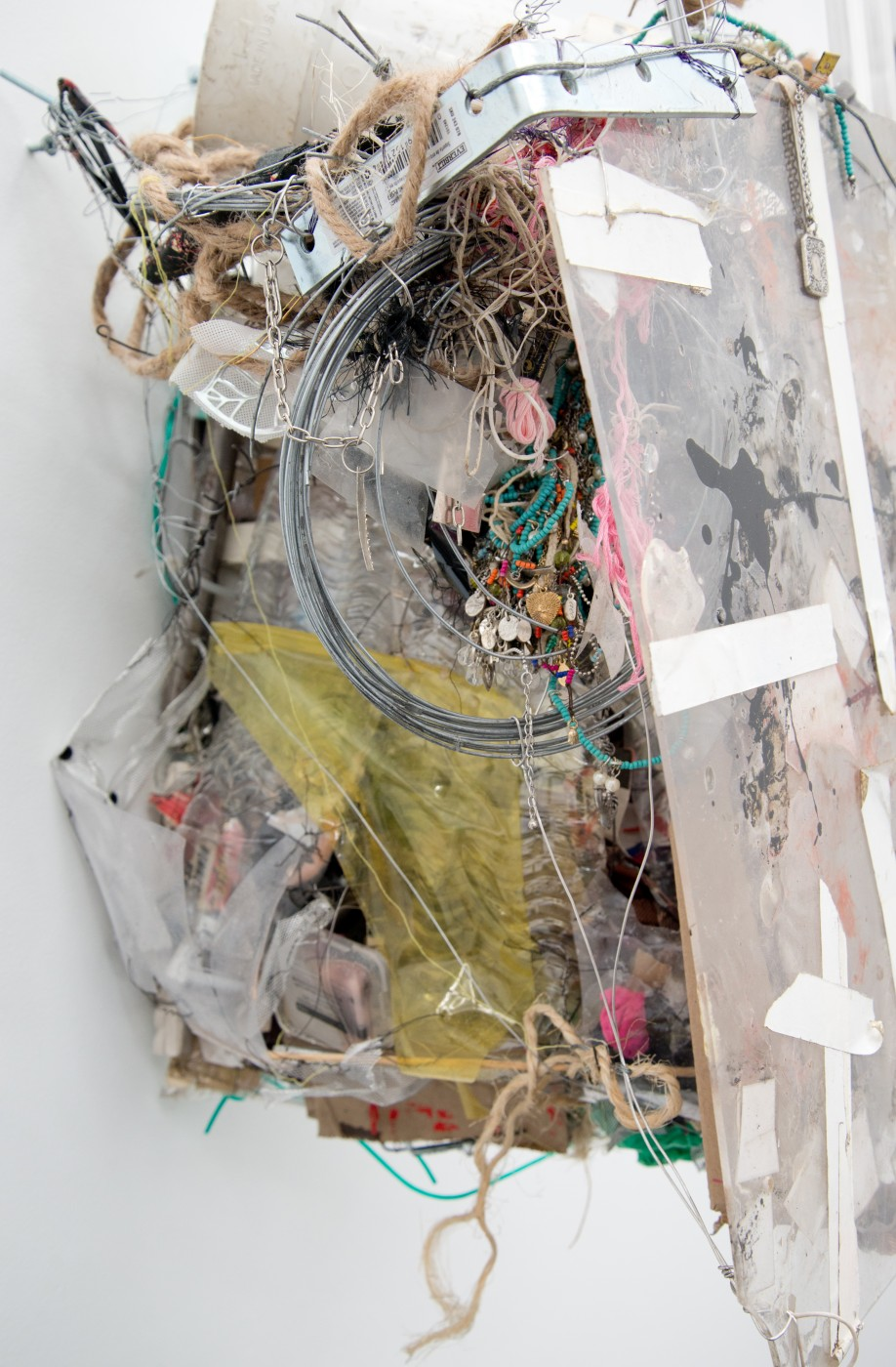 METROPOLITAN  The Student's Tale</I>, 2015 (detail) Mixed media 62 x 42 x 42 cm / 24.4 x 16.5 x 16.5 in