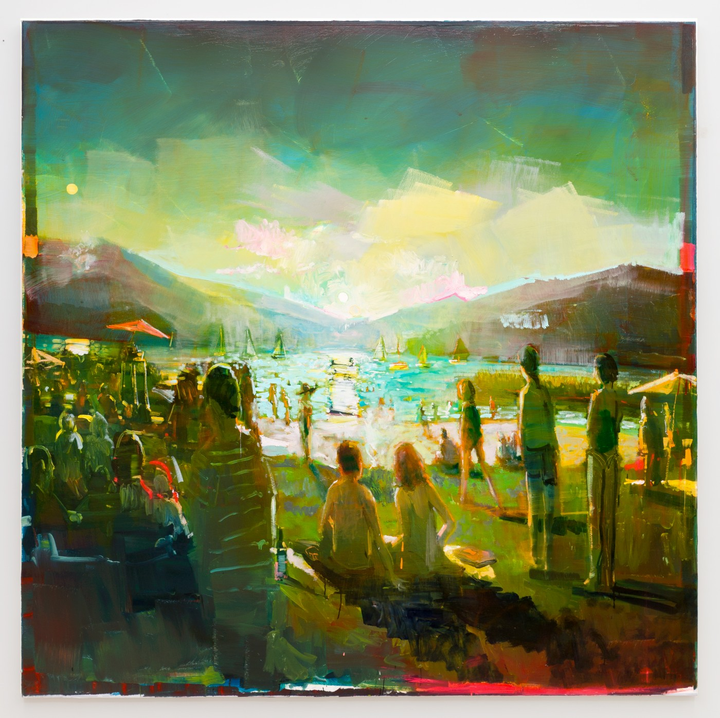 DAY BY DAY  Lac du Bourget</I>, 2016 