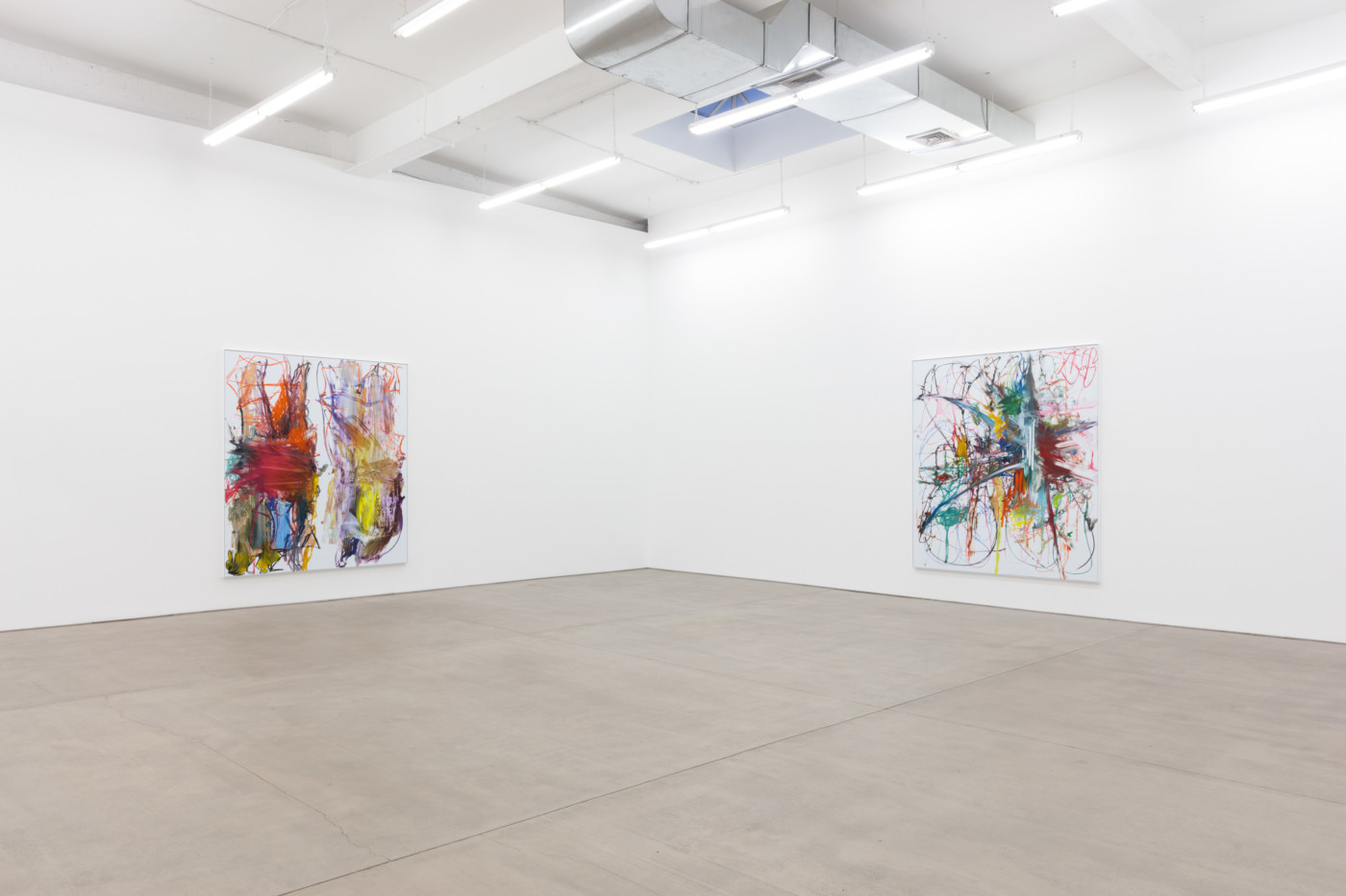 AARON  GARBER-MAIKOVSKA  postpartum , 2018, Clearing, New York,  installation view - High Art Gallery Paris