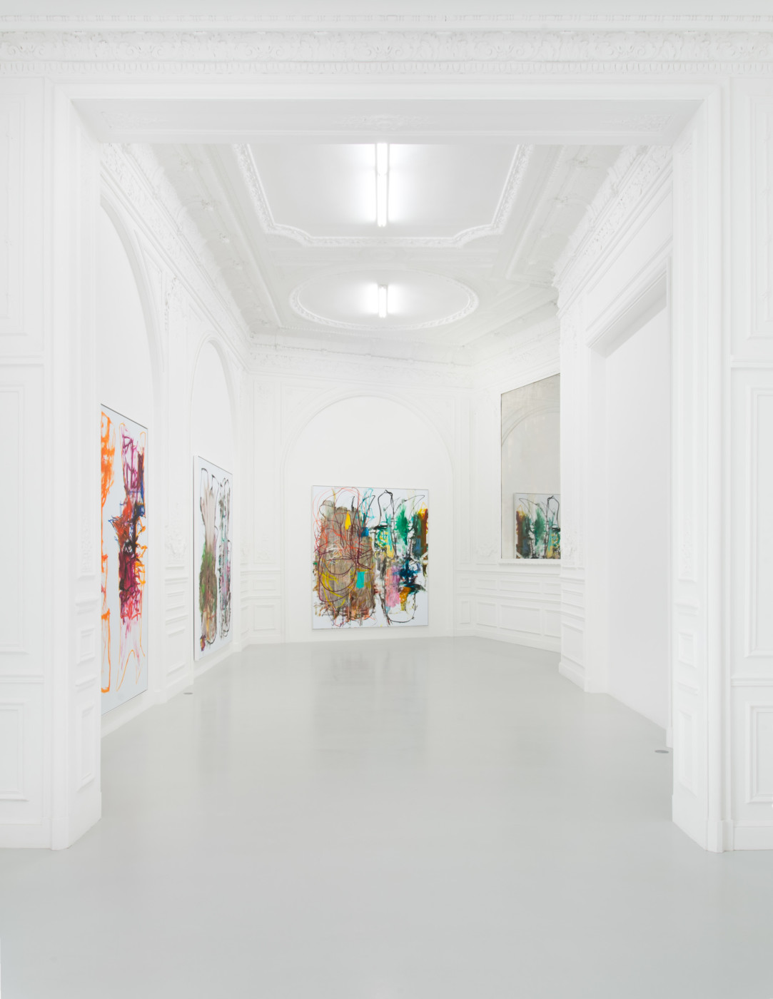 AARON  GARBER-MAIKOVSKA  homebirth , 2018, High Art, Paris, installation view - High Art Gallery Paris