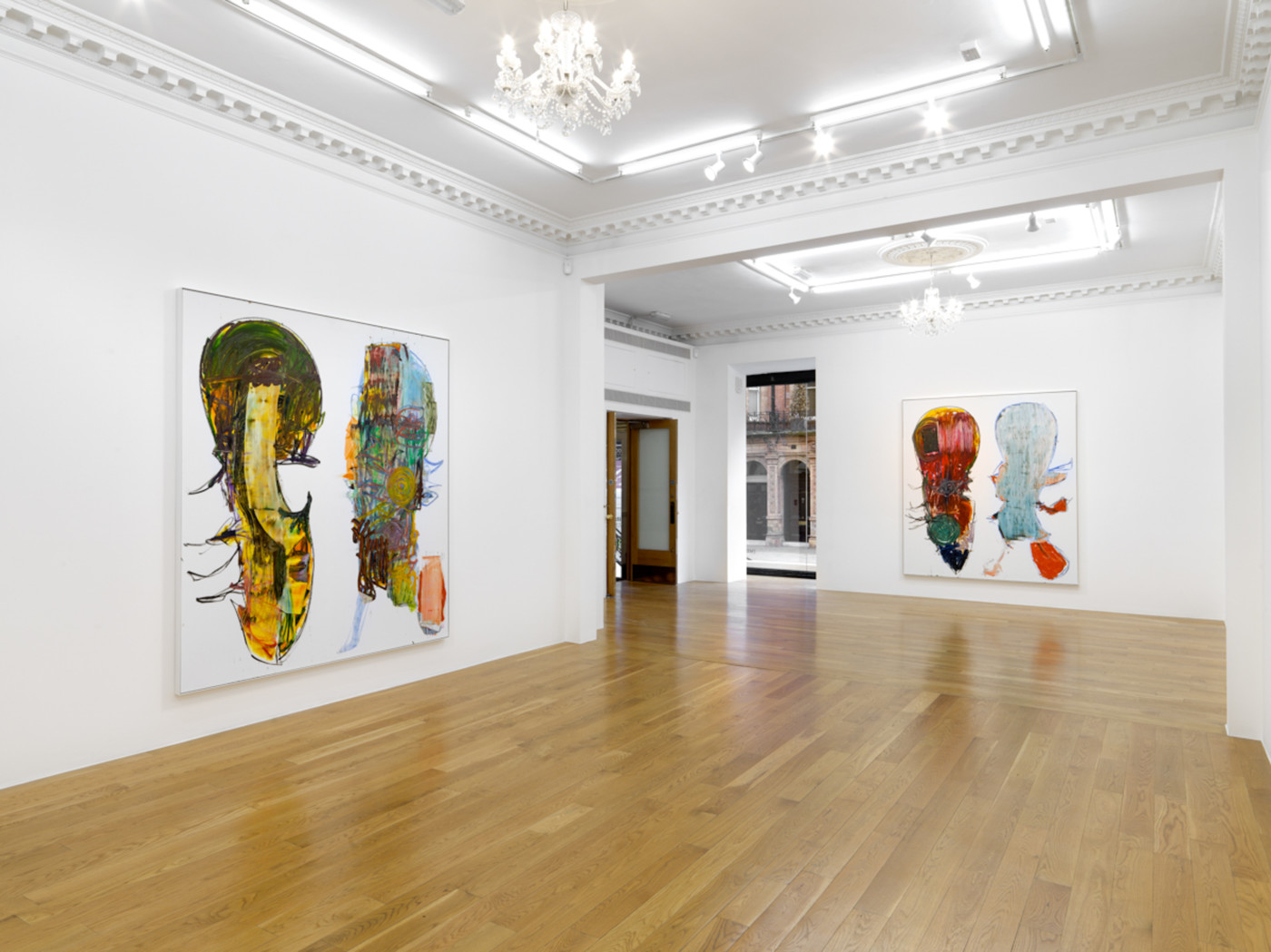 AARON  GARBER-MAIKOVSKA  DAUGHTER , 2019, Massimo de Carlo, London, installation view - High Art Gallery Paris
