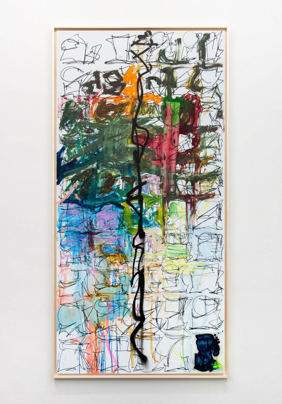 I&#8217;m Nobody! Aaron Garber-Maikovska  Untitled</I>, 2017 Ink,