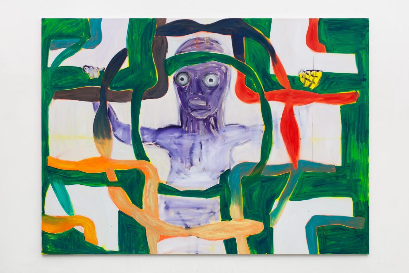 TOM HUMPHREYS  Endling</I>, 2018 Acrylic on canvas 200 × 280 cm / 78.7 × 110.2 in