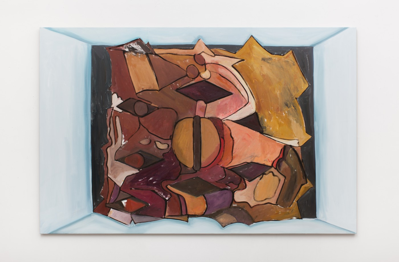 TOM HUMPHREYS  Song</I>, 2018 Oil on linen 150 × 230 cm / 59 × 90.5 in