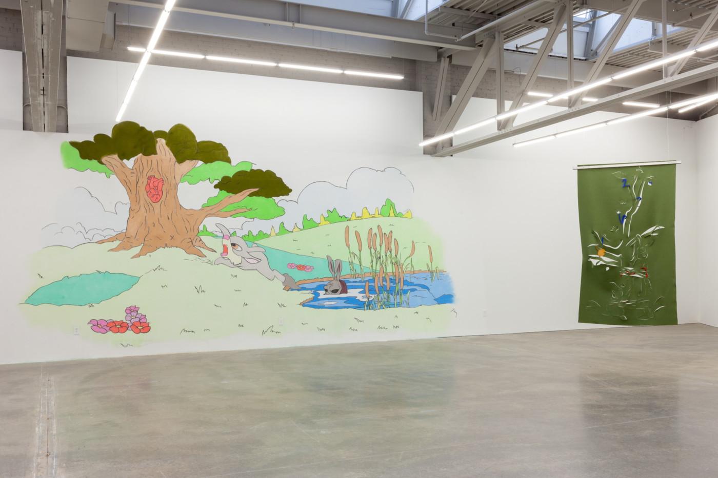 DENA YAGO  The Shortest Shadow , 2018, Atlanta Contemporary, Atlanta,  installation view - High Art Gallery Paris