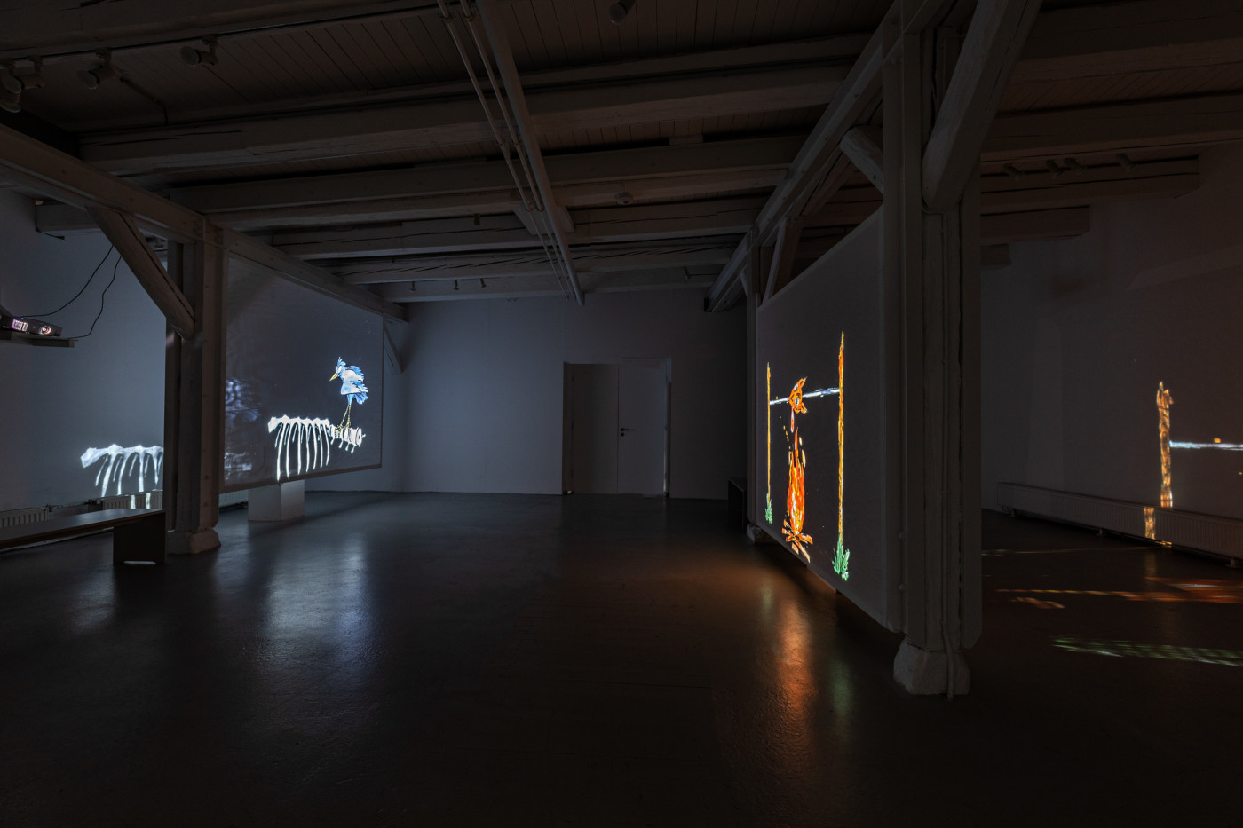 MATT COPSON  Matt Copson ,  2018, Mönchehaus Museum, Gosler, installation view - High Art Gallery Paris