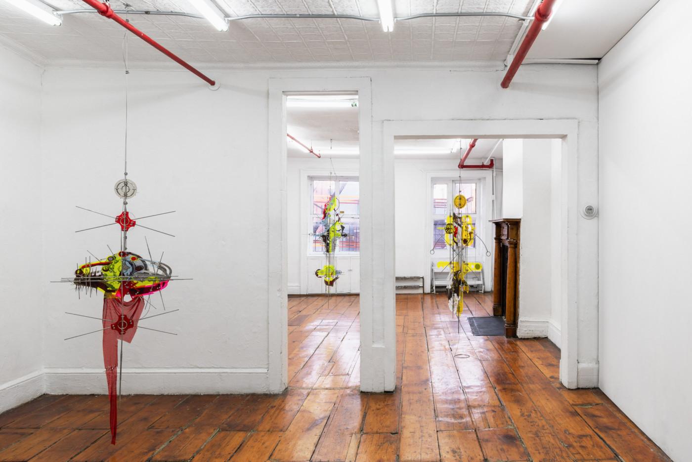 VALERIE KEANE  Existence Machine , 2020, Lomex, New York,  installation view - High Art Gallery Paris