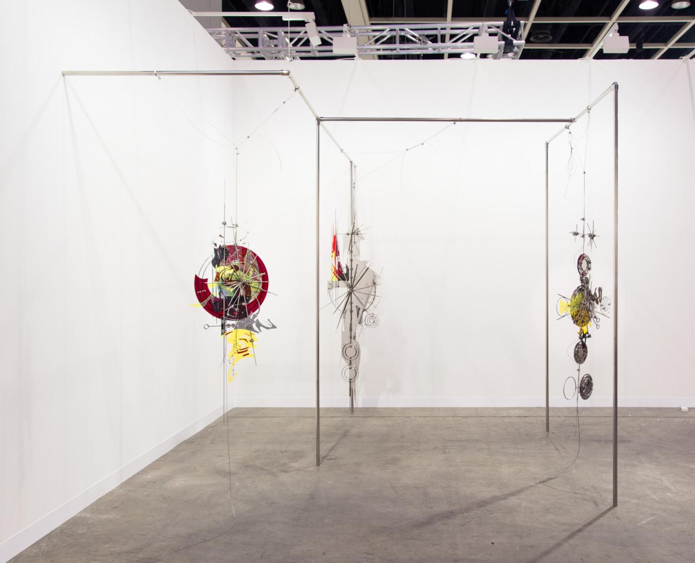 VALERIE KEANE  Solo presentation , 2019, Art Basel Hong Kong,  installation view - High Art Gallery Paris