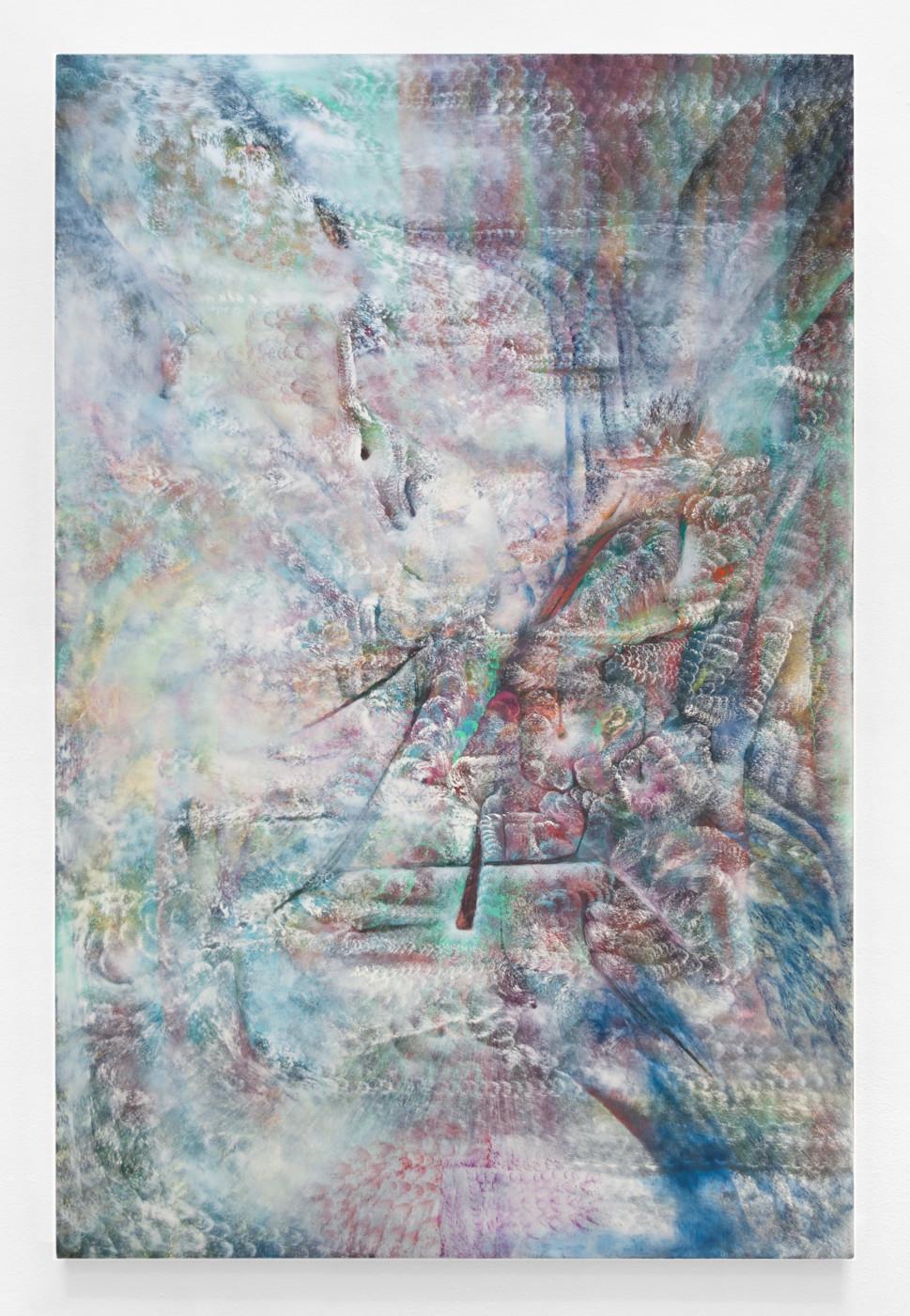 LUCY BULL  Deep Balm , 2020 Oil on linen 152.4 x 101.6 cm / 60 x 40 in - High Art Gallery Paris
