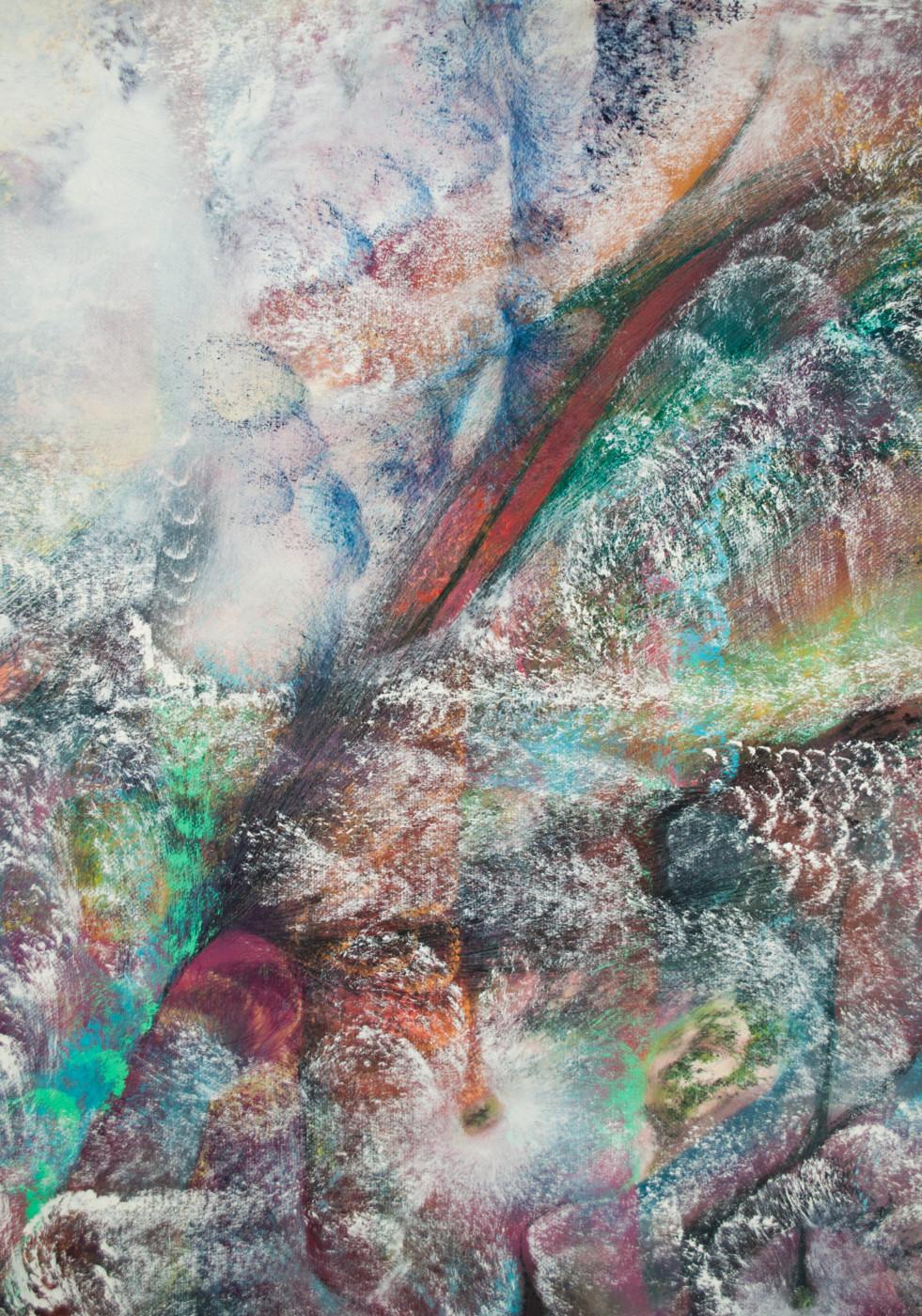 LUCY BULL  Deep Balm  (detail), 2020 Oil on linen 152.4 x 101.6 cm / 60 x 40 in - High Art Gallery Paris