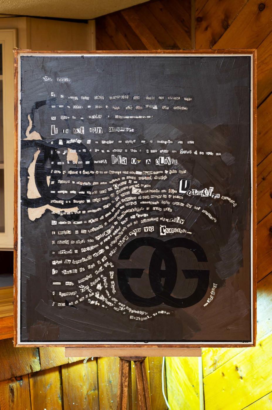 BRADLEY KRONZ  Idea of a Clover , 2019 Mixed media 152,4 × 50,8 × 66,1 cm / 60 x 20 x 26 in - High Art Gallery Paris