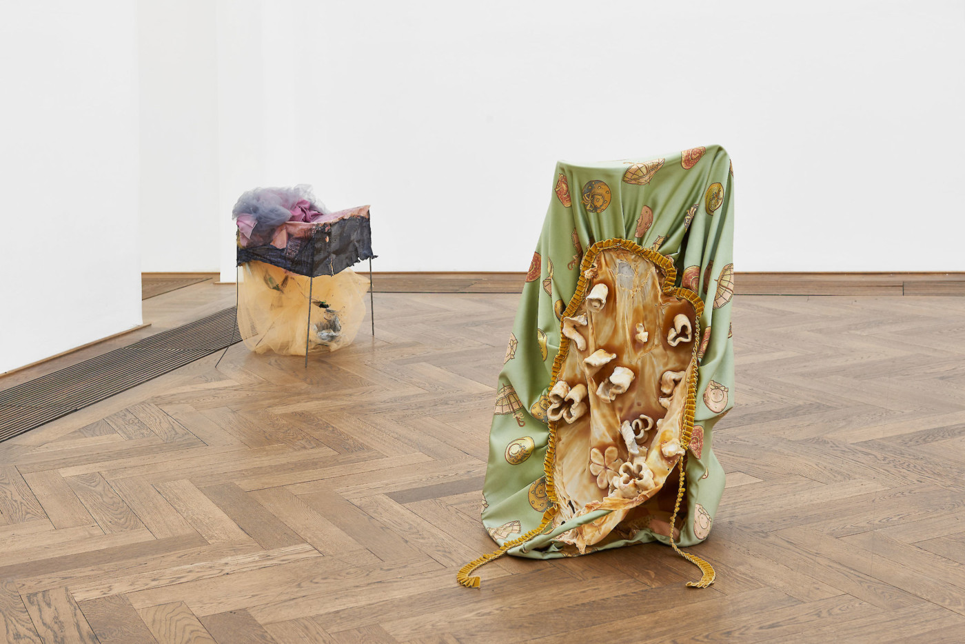 OLGA BALEMA  Ungestalt , 2017, Kunsthalle Basel, installation view - High Art Gallery Paris