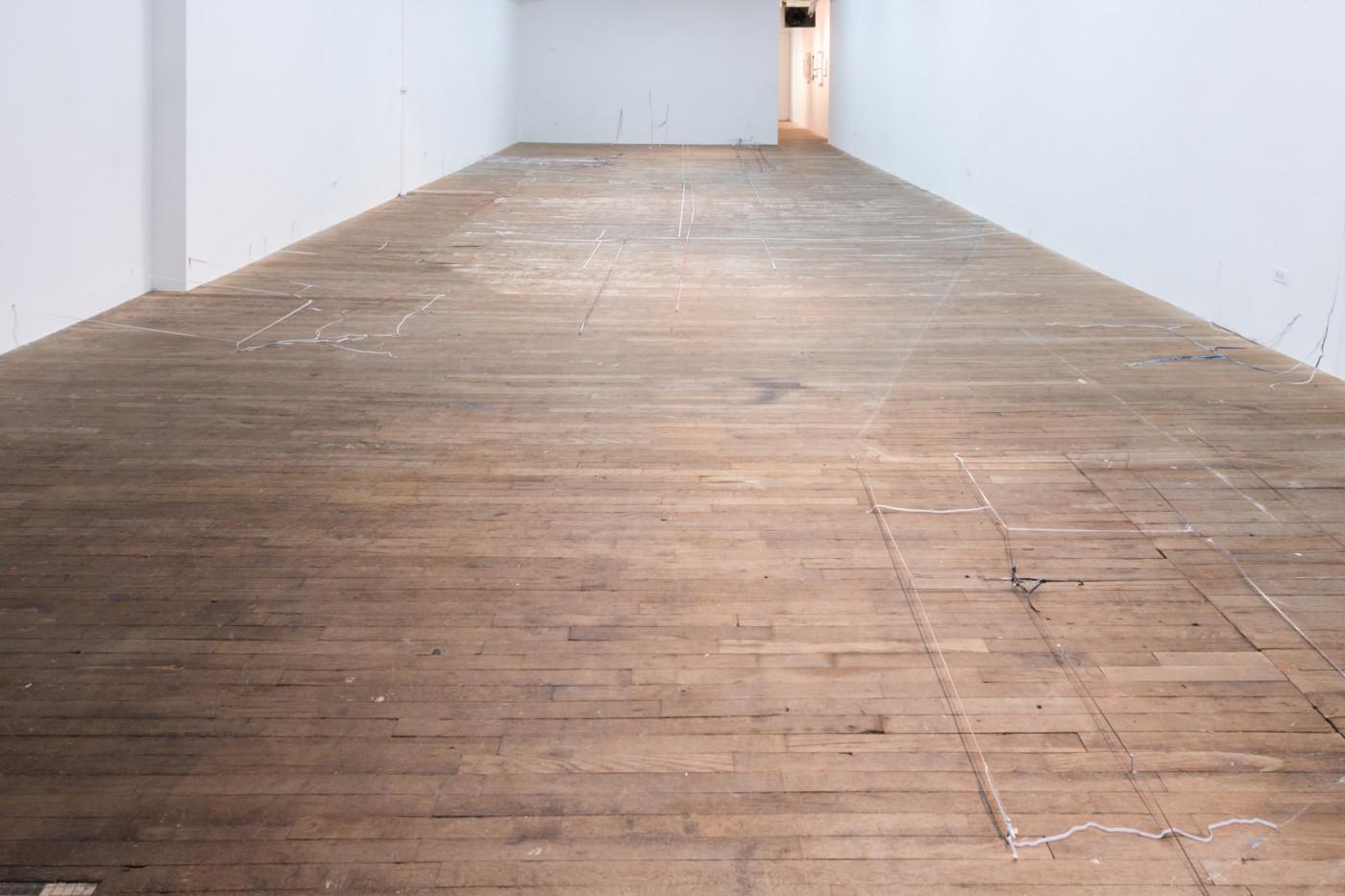 OLGA BALEMA  brain damage,  2019, Bridget Donahue, New York, USA, installation view - High Art Gallery Paris
