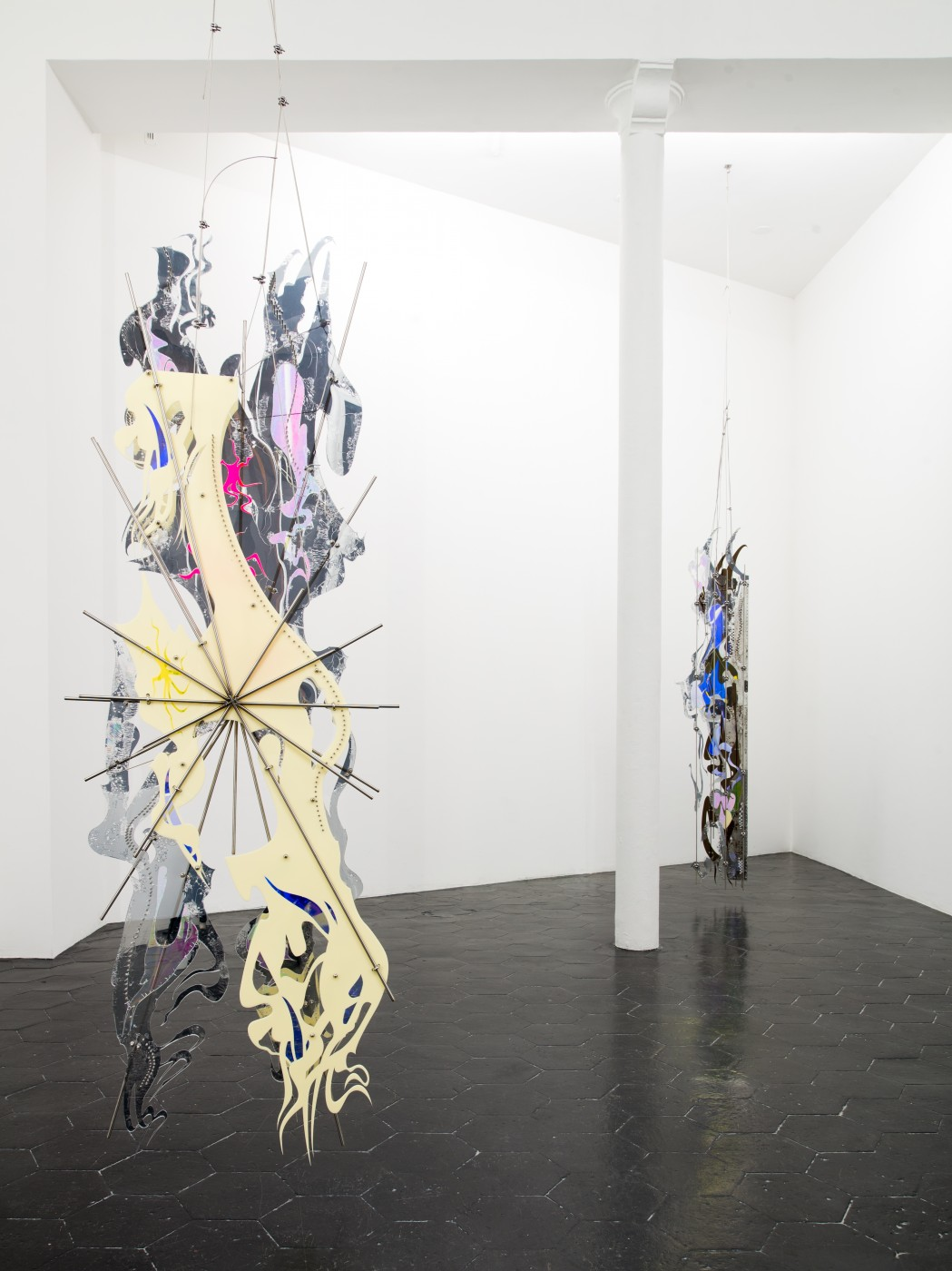 AFTERBURNER, THE ENEMY (LONG ARMED SUN) AND SKINSUIT AT THE CASTLE  - High Art Gallery Paris