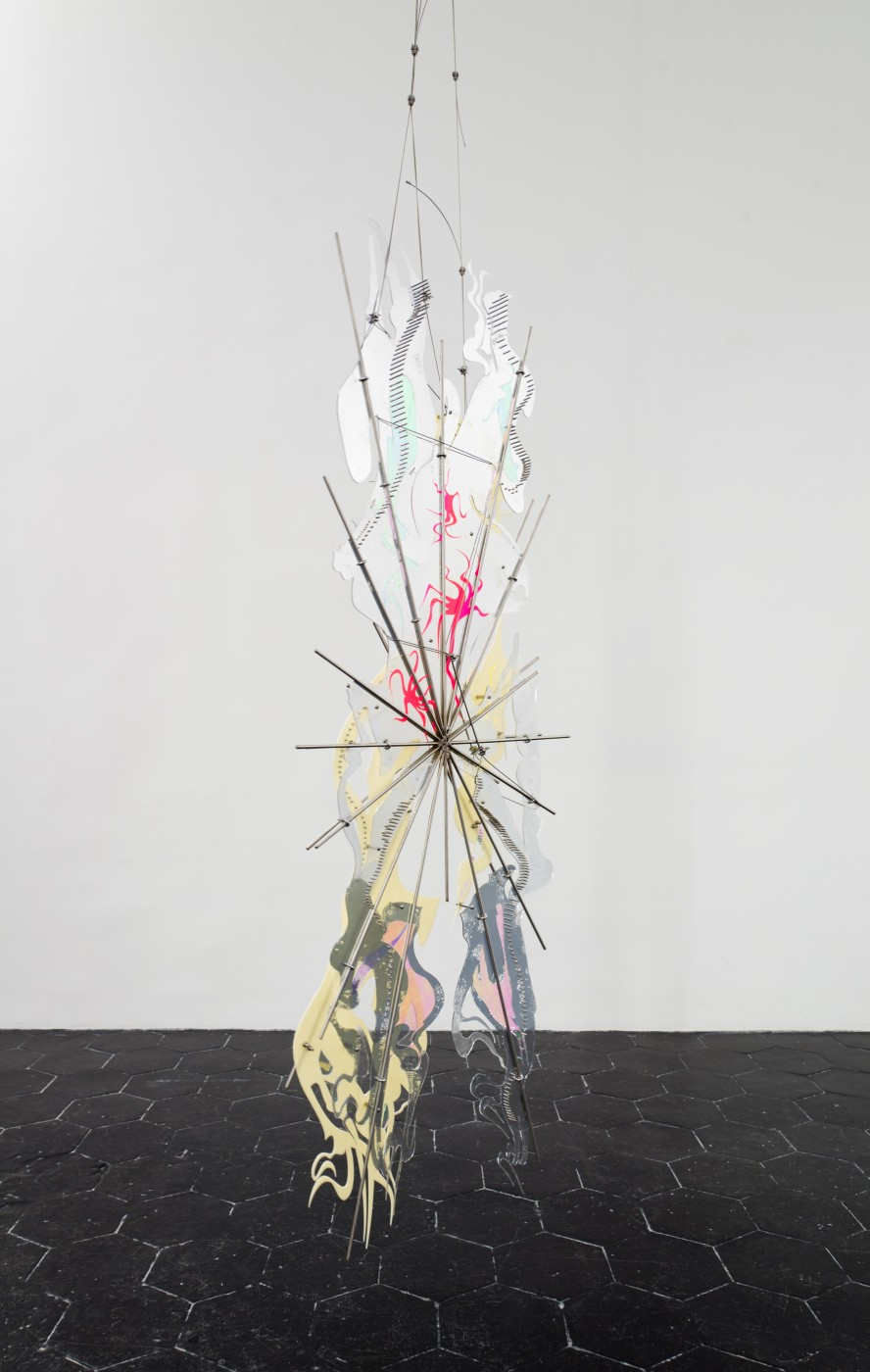 AFTERBURNER, THE ENEMY (LONG ARMED SUN) AND SKINSUIT AT THE CASTLE  Skinsuit at the Castle</I>, 2016 