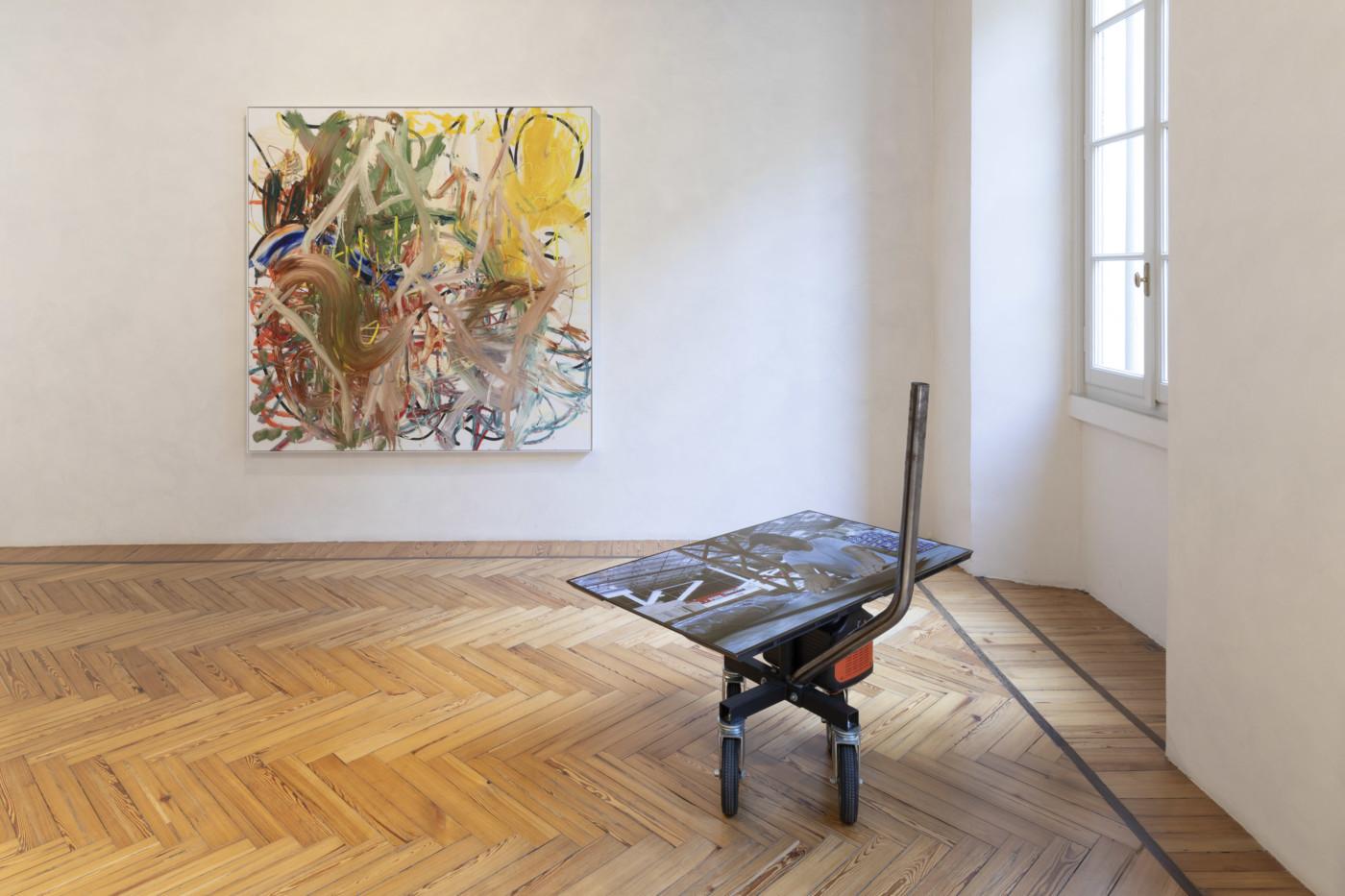 AARON  GARBER-MAIKOVSKA  Yucaipa,  2021, Massimo de Carlo Gallery, Milan, Italy, installation view - High Art Gallery Paris
