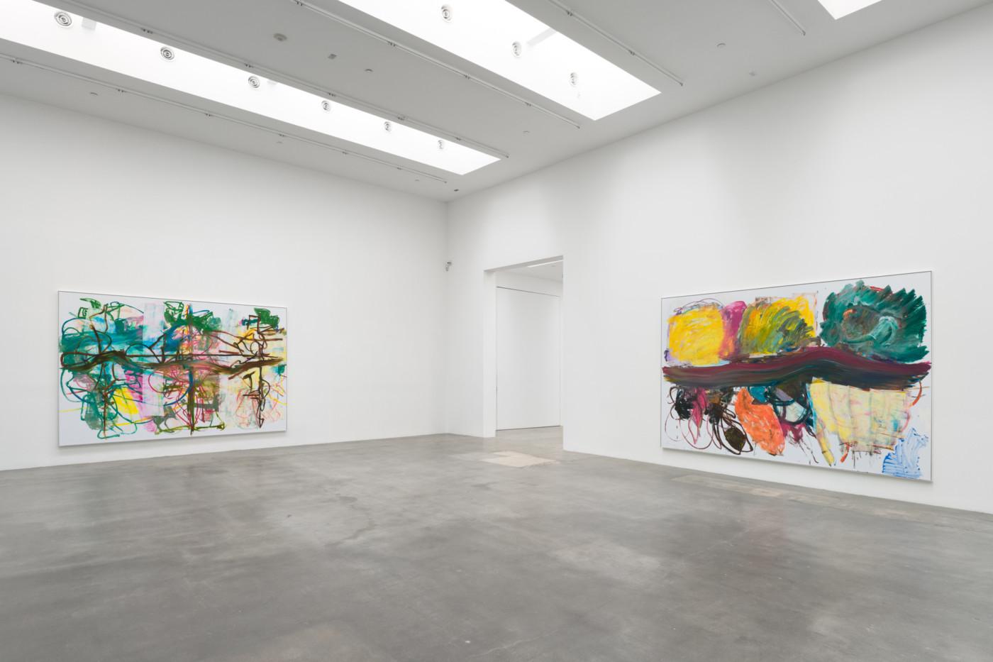 AARON  GARBER-MAIKOVSKA  4 from 3 dancers,  2020, Blum   Poe, Los Angeles, USA, installation view - High Art Gallery Paris
