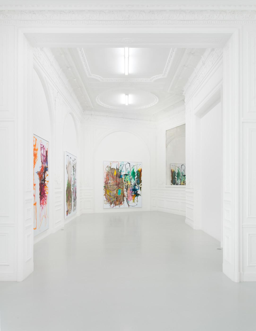 AARON  GARBER-MAIKOVSKA  homebirth , 2018, High Art, Paris, installation view - High Art Gallery Paris
