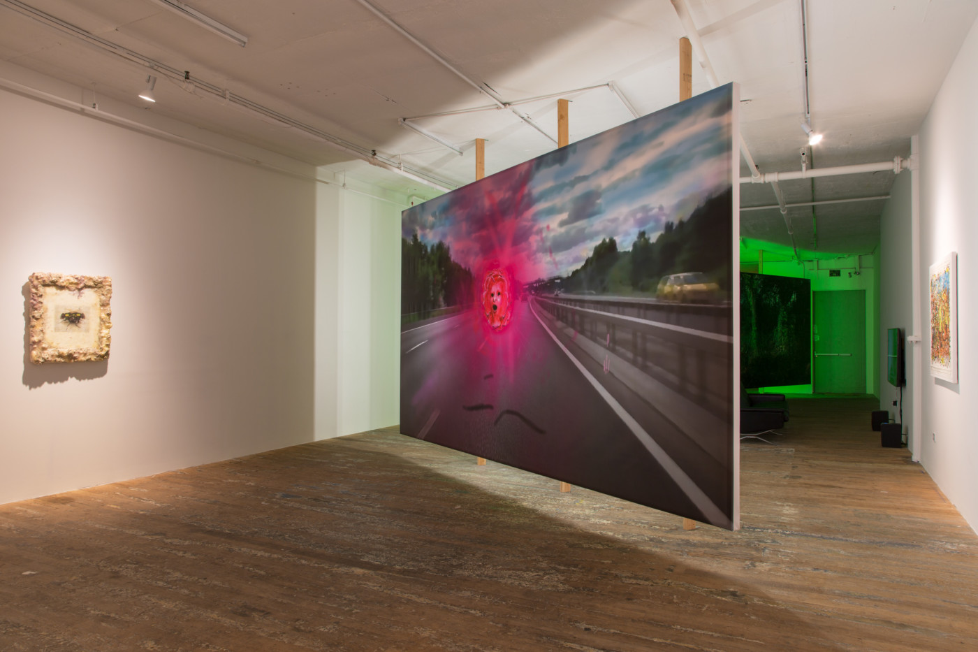 JOHN RUSSELL  DOGGO , 2018 Bridget Donahue Gallery, New York, USA Installation view - High Art Gallery Paris