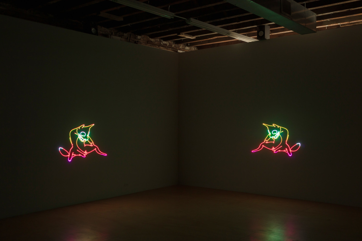 MATT COPSON  Down Boy , 2019, Reena Spaulings Fine Arts, New York, installation view - High Art Gallery Paris