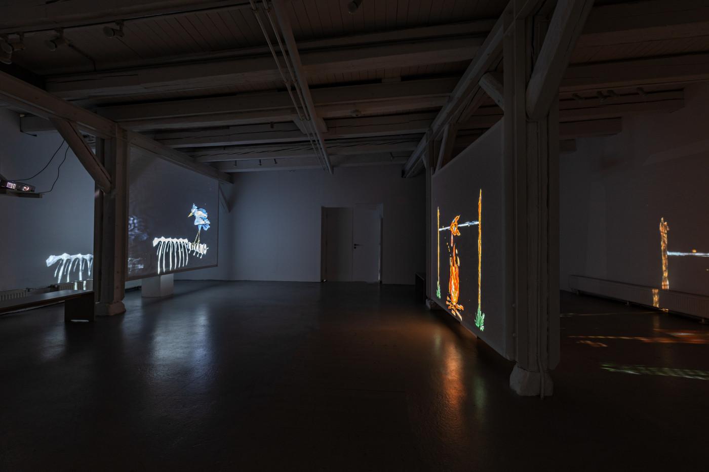 MATT COPSON  Matt Copson ,  2018, Mönchehaus Museum, Gosler, installation view - High Art Gallery Paris