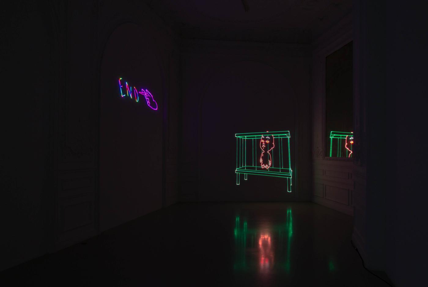 MATT COPSON  Coming of Age , 2020, High Art, Paris, France, installation view      - High Art Gallery Paris