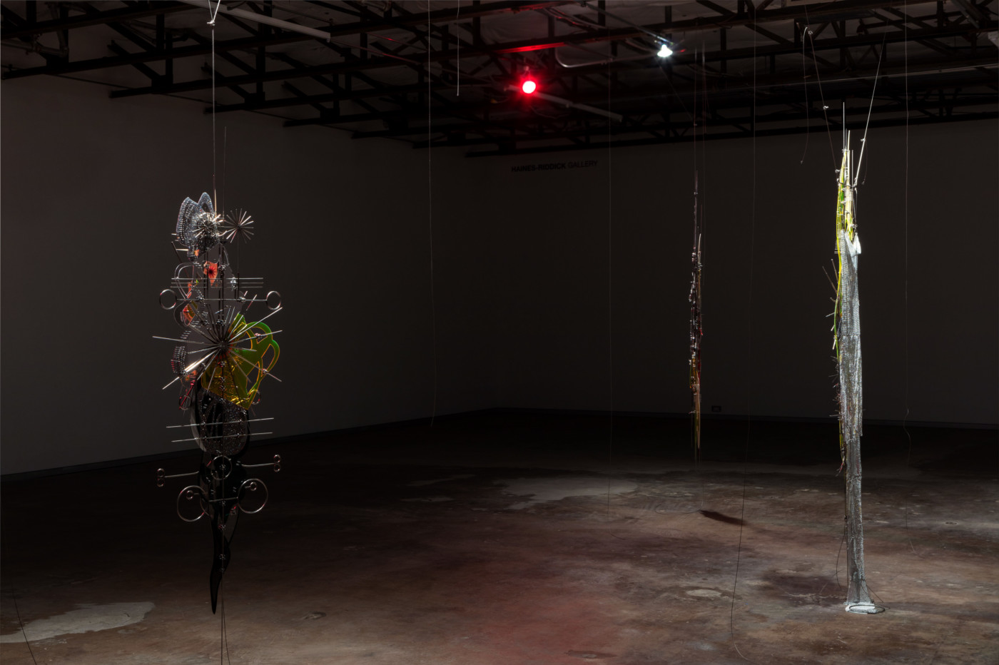 VALERIE KEANE  The desire to be everything , 2018, Dallas Contemporary,  installation view - High Art Gallery Paris