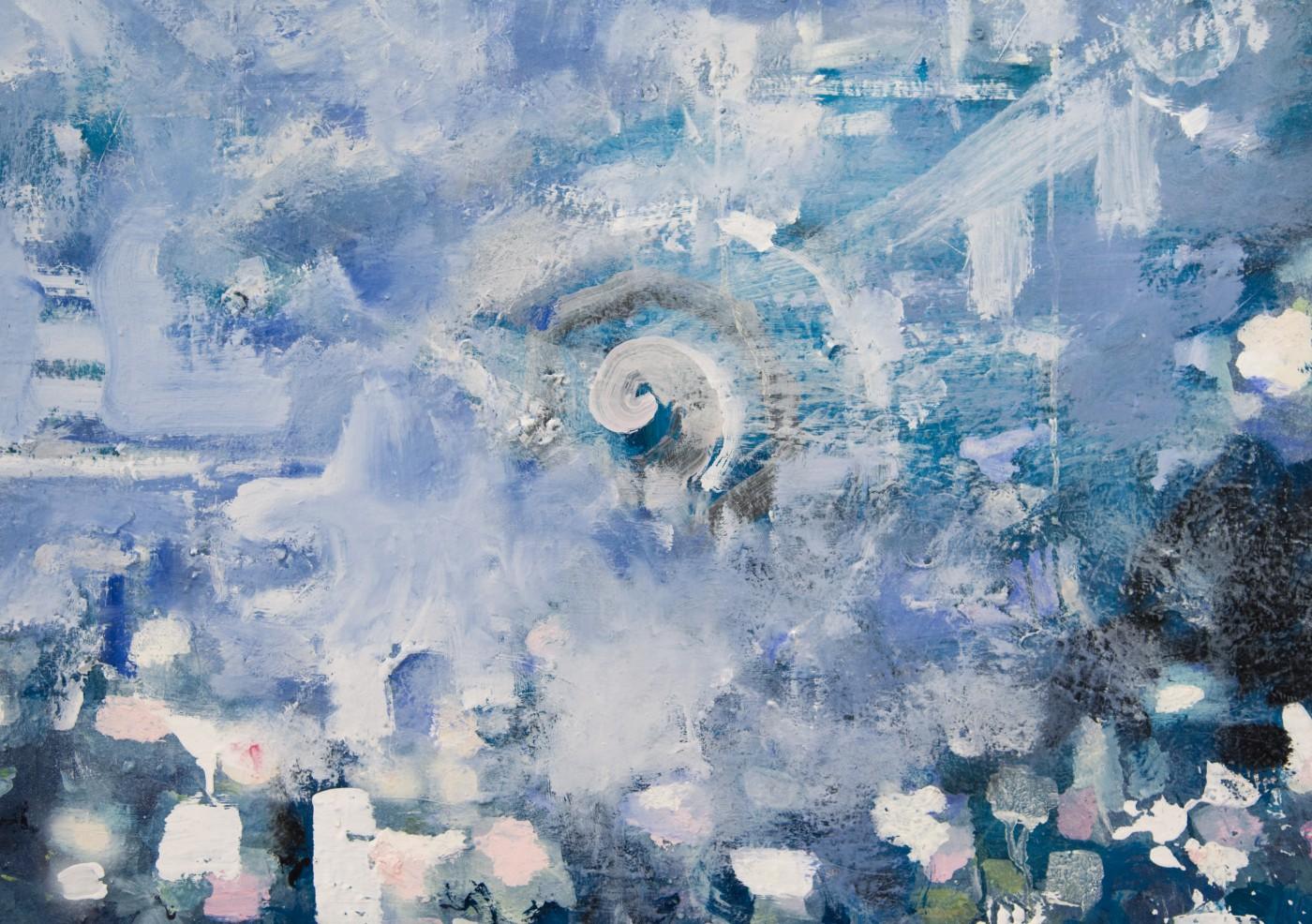 WALLFLOWERS, MALFLOWERS  Daybreak #1  (detail), 2018  Oil on canvas  195,6 × 183 cm / 77 × 72 in   Nathan Zeidman