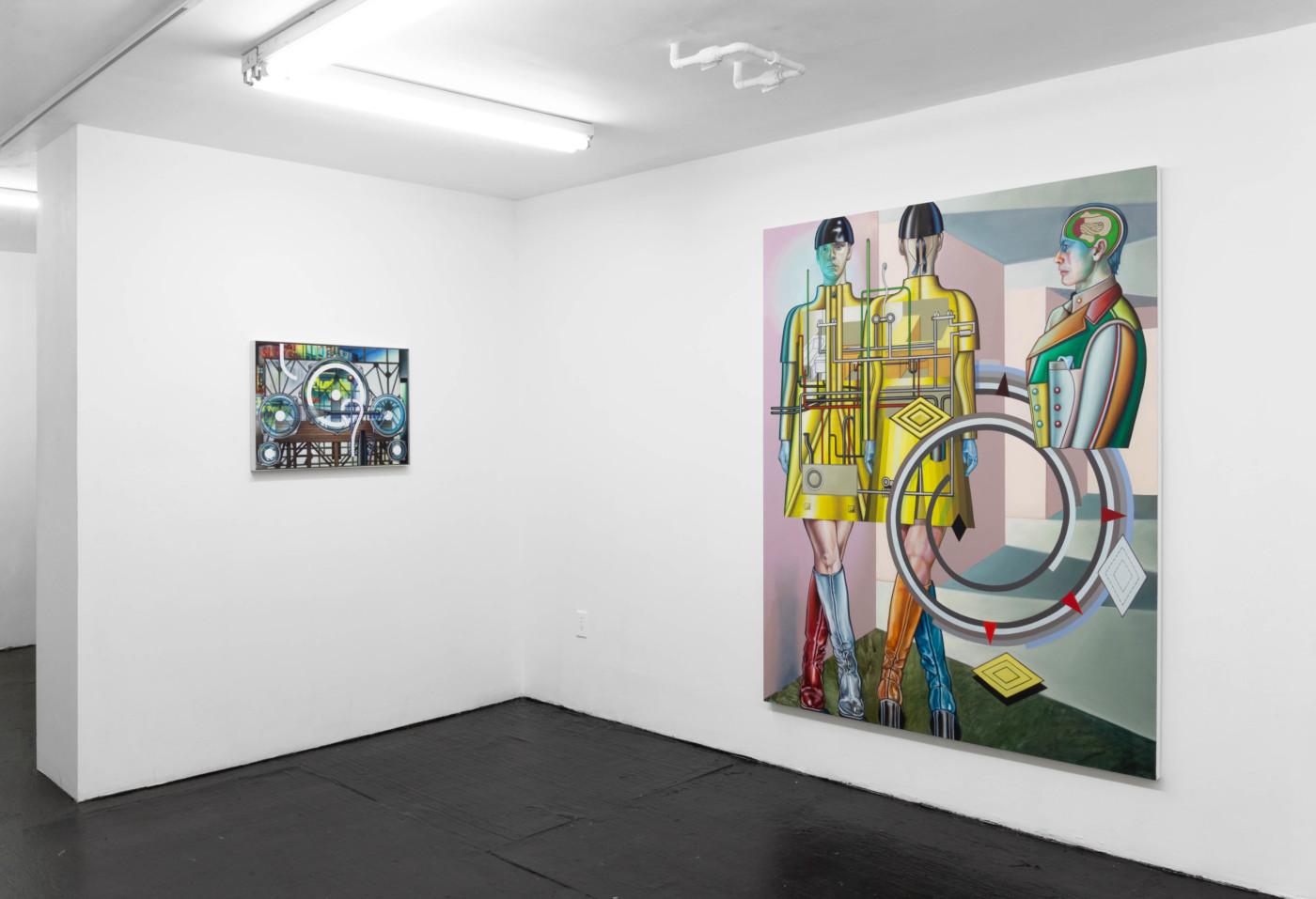 ORION MARTIN  Pressure Head,  2021, Bodega, New York, USA, installation view - High Art Gallery Paris
