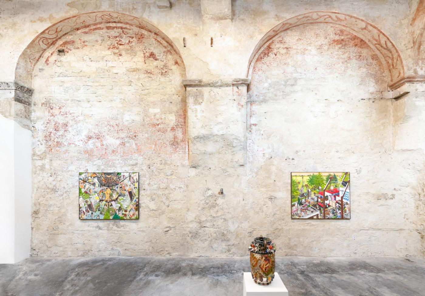 HUN KYU KIM  EGRESS,  2021, High Art, Arles, France, installation view - High Art Gallery Paris