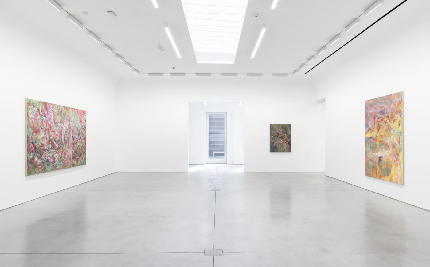 LUCY BULL  Skunk Grove , 2021, David Kordansky, Los Angeles, USA, installation view - High Art Gallery Paris