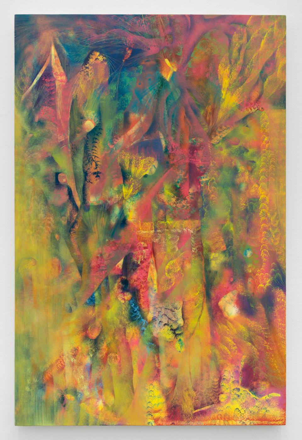 LUCY BULL  Neptune's Net , 2019 Oil on linen 127 x 83,8 cm / 50 x 33 in - High Art Gallery Paris