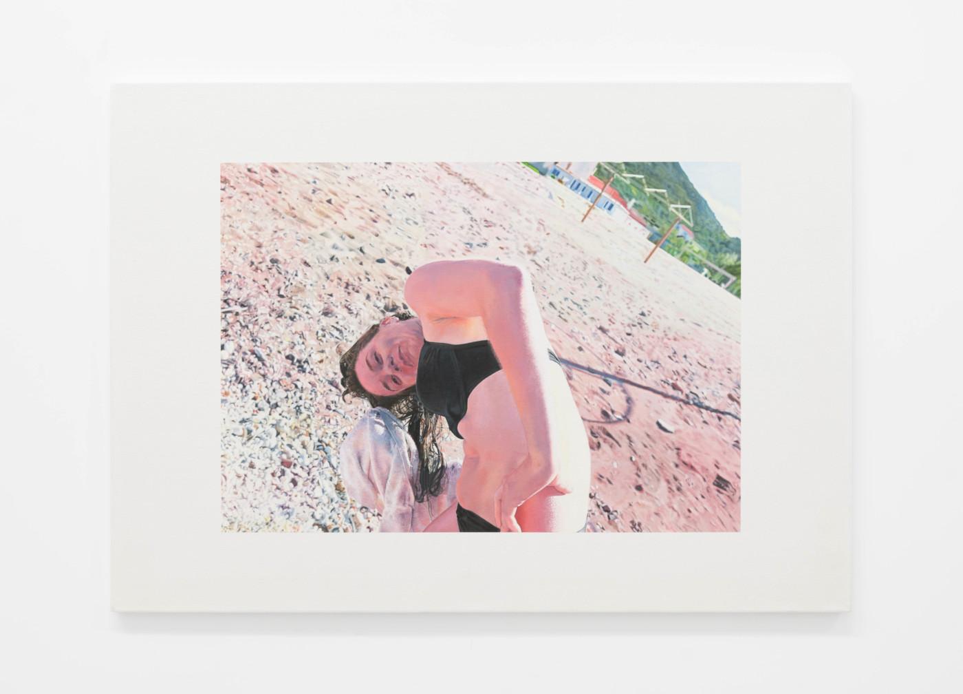 WONDER WORKERS  Wonder Workers 6 , 2021 Oil on canvas 70 x 105 cm / 27 1/2 x 41 3/8 in - High Art Gallery Paris
